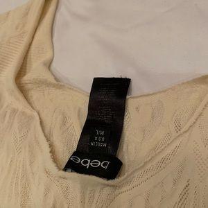 Bebe scoop neck shirt